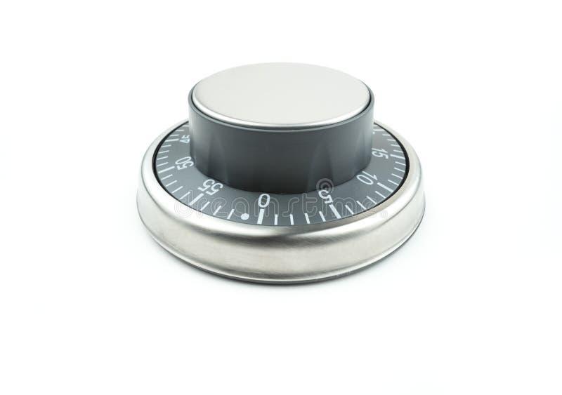 Dial del contador de tiempo del metal fotografía de archivo libre de regalías