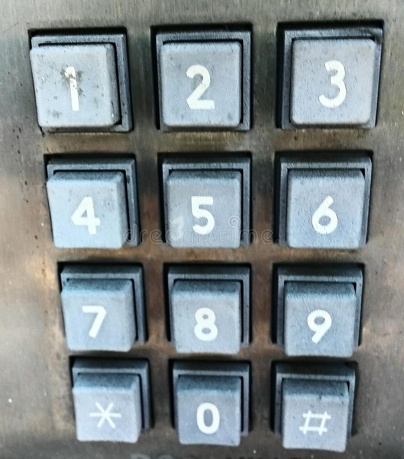 Dial Me royalty free stock image