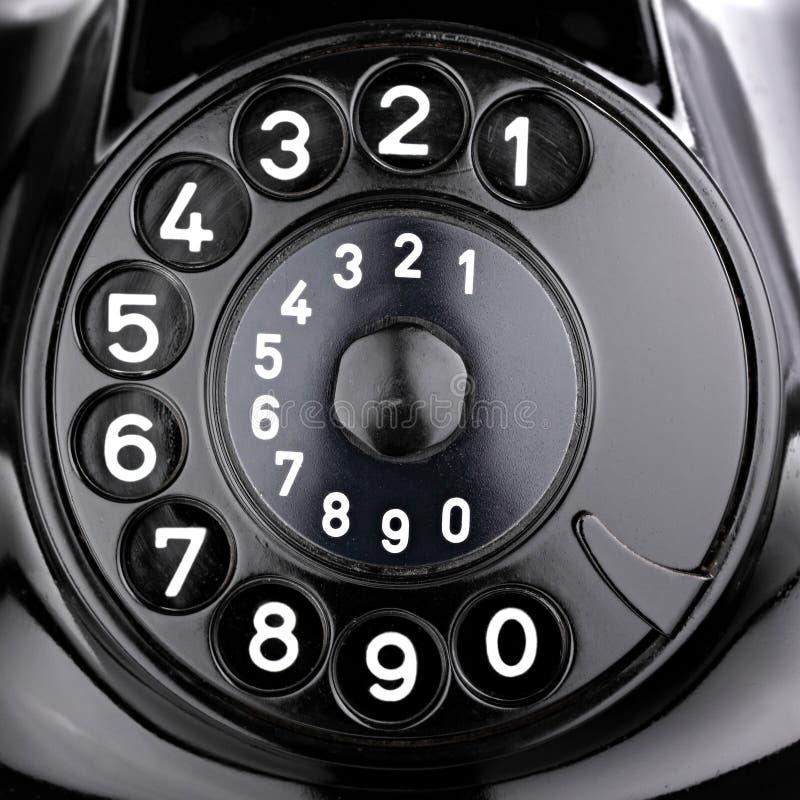 Dial rotatorio imagen de archivo libre de regalías