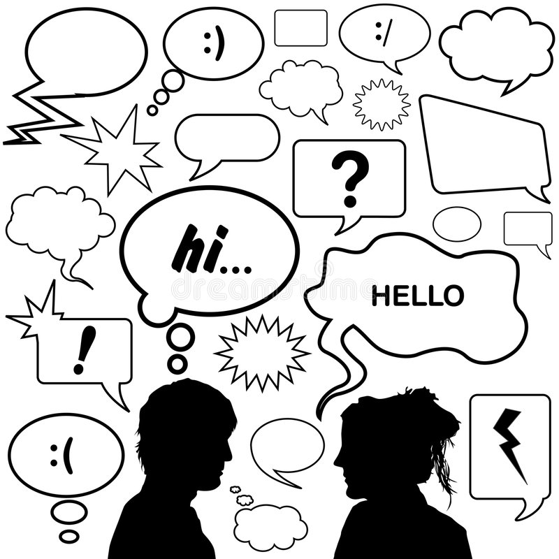 Download Dialog Bubbles Vector Royalty Free Stock Images - Image: 6020779