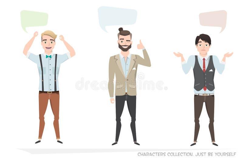 Dialoogbel voor mededeling royalty-vrije illustratie