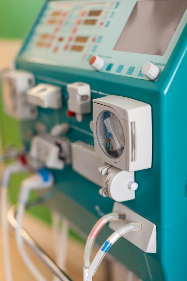 Dialyse im Krankenhaus lizenzfreie stockfotos