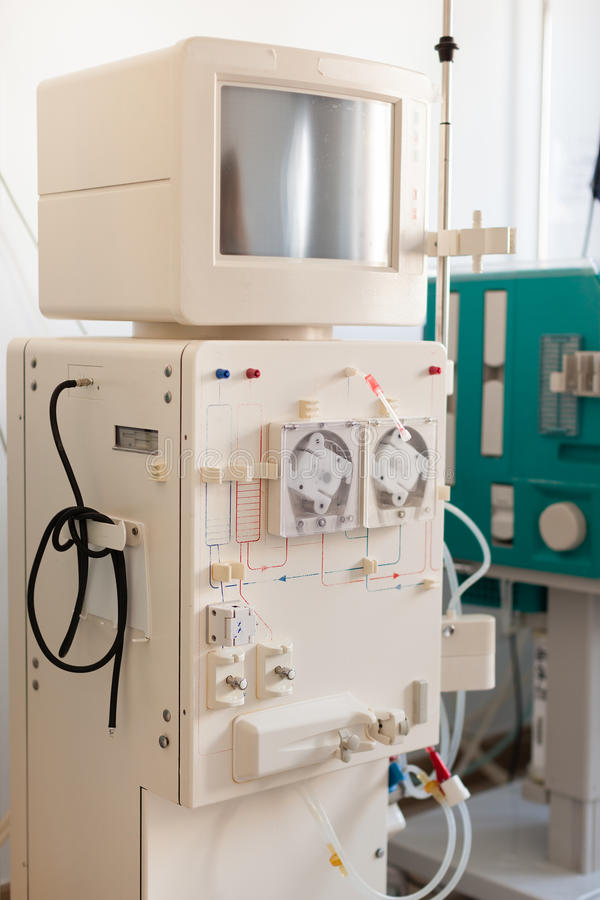 Dialysegerät stockfotografie