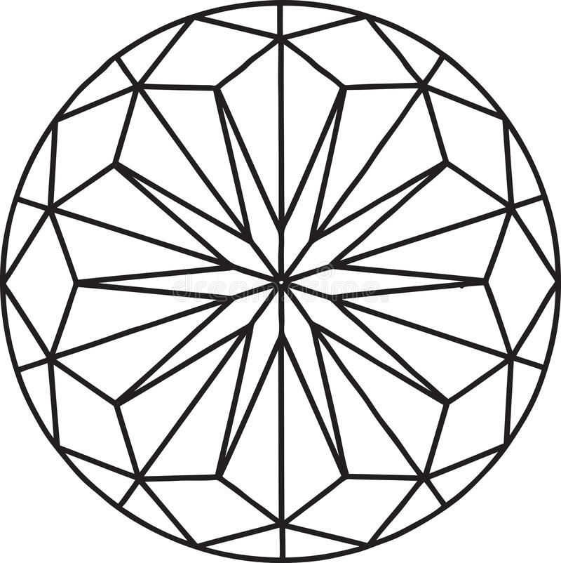 Diamant illustration libre de droits