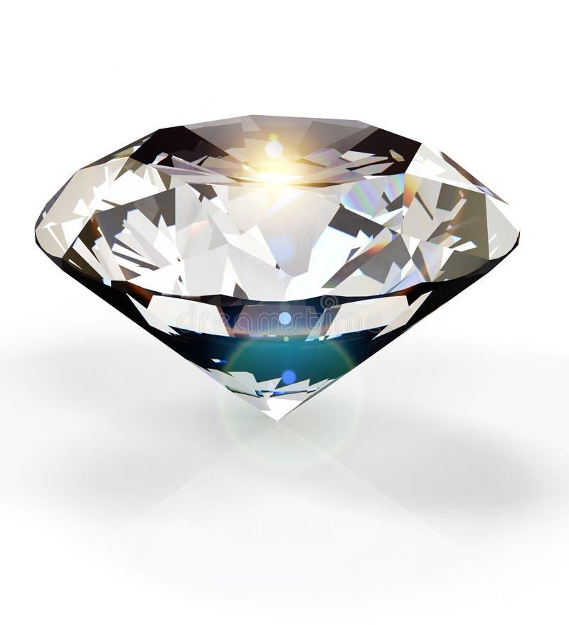 Diamant stock illustratie