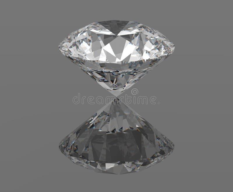 Download Diamant stock abbildung. Illustration von facette, schmucksachen - 27726674