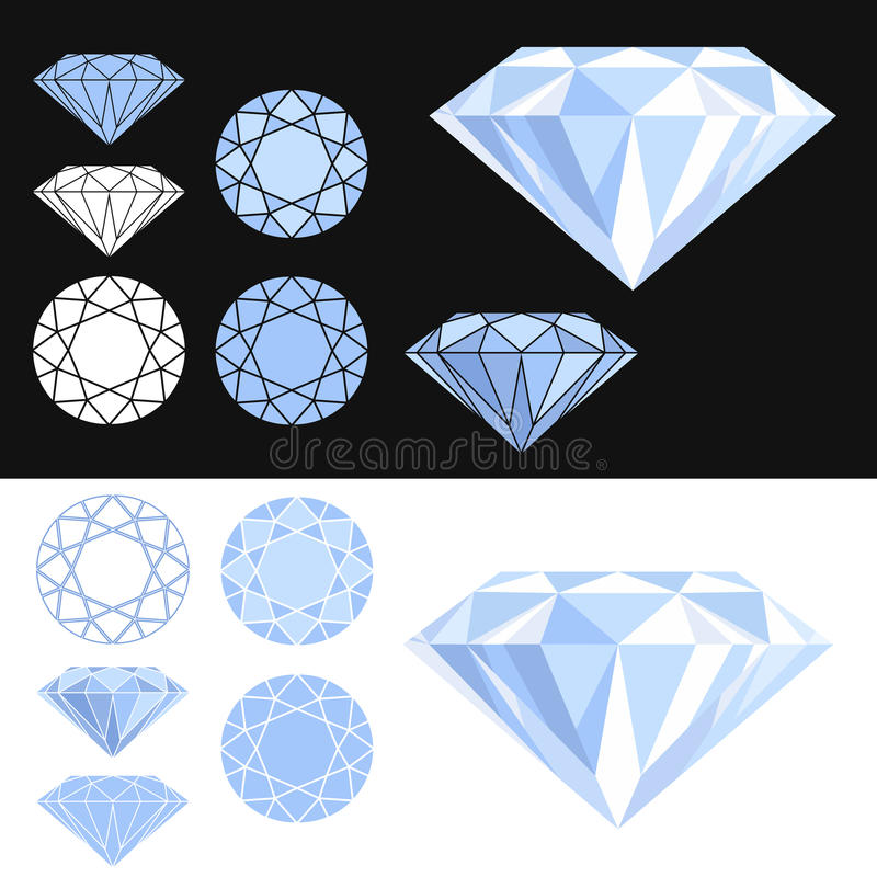Diamant illustration stock