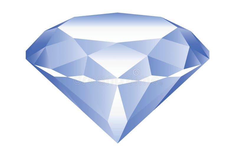 Diamant vektor abbildung
