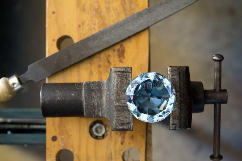 Diamant royalty-vrije stock foto's
