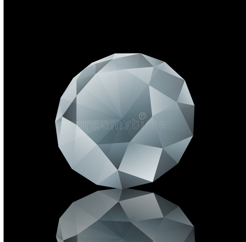 Diamant stockfotografie