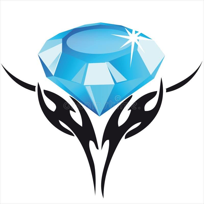 Diamant illustration stock