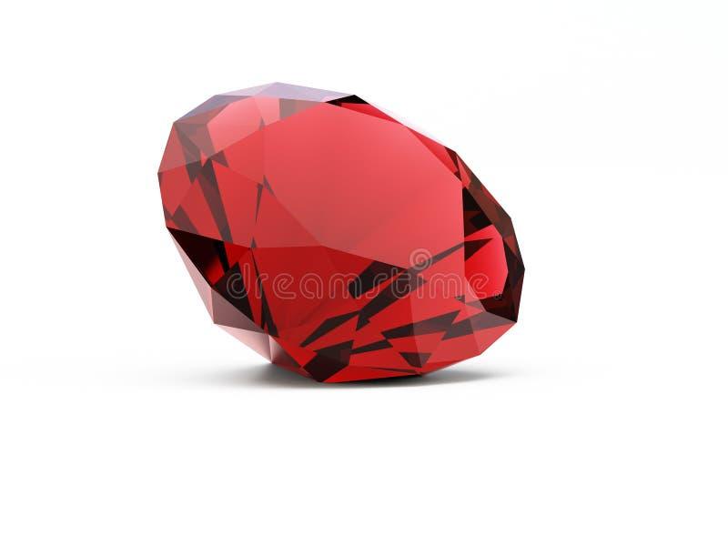 Diamant royalty-vrije illustratie