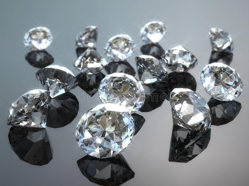 Diamant illustration de vecteur