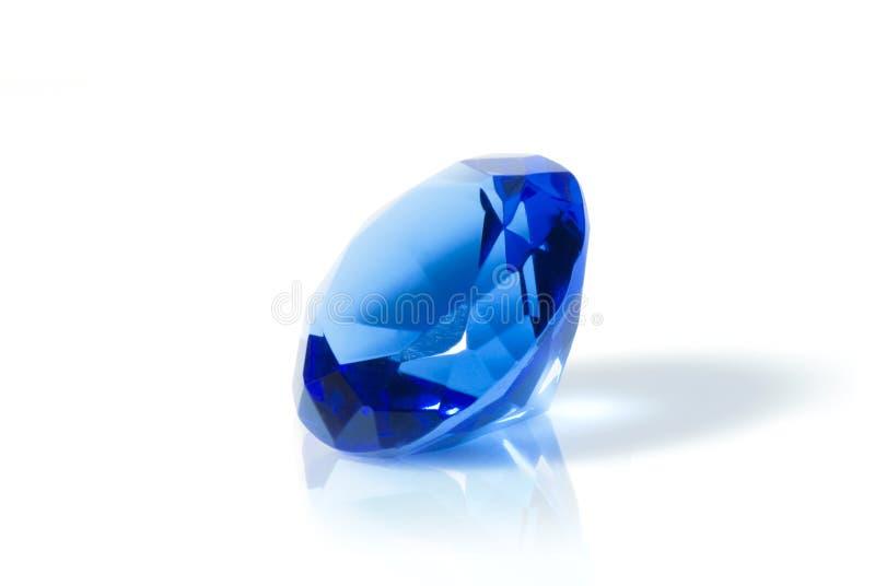 Diamant bleu photographie stock