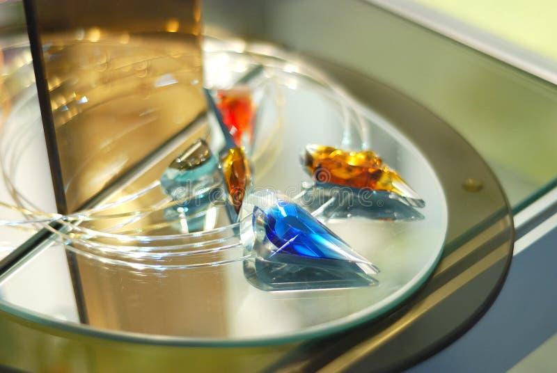 Diamant bleu image stock