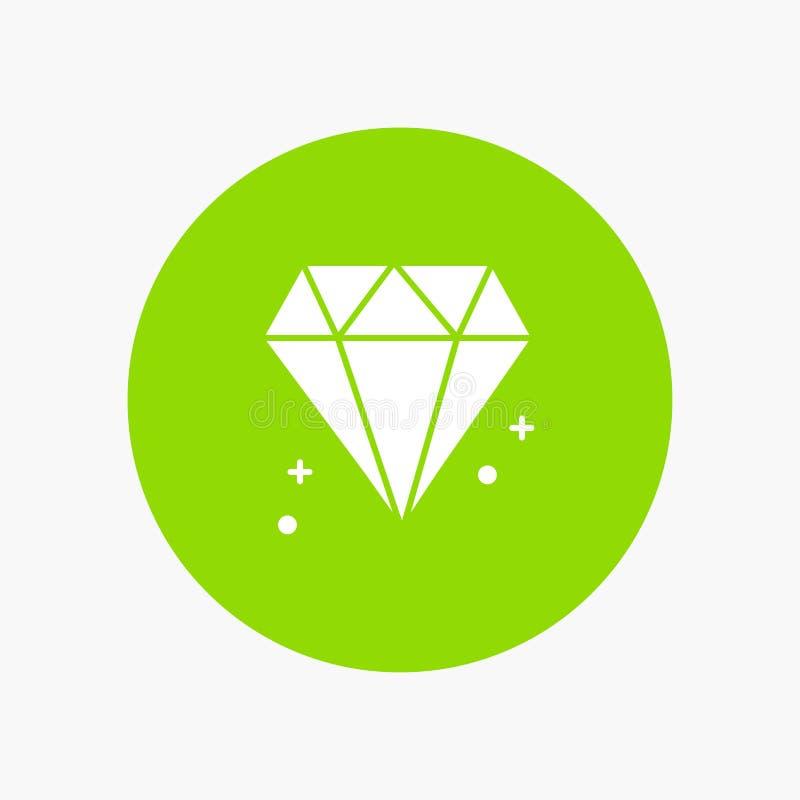 Diamant, Canada, Juweel stock illustratie