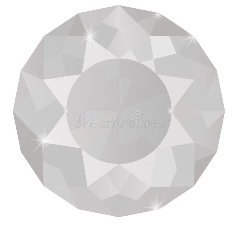 Diamant 3d model vector illustratie