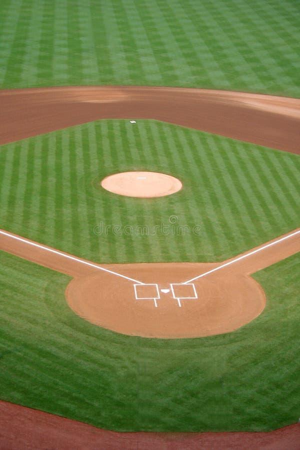 Diamant de base-ball photos stock