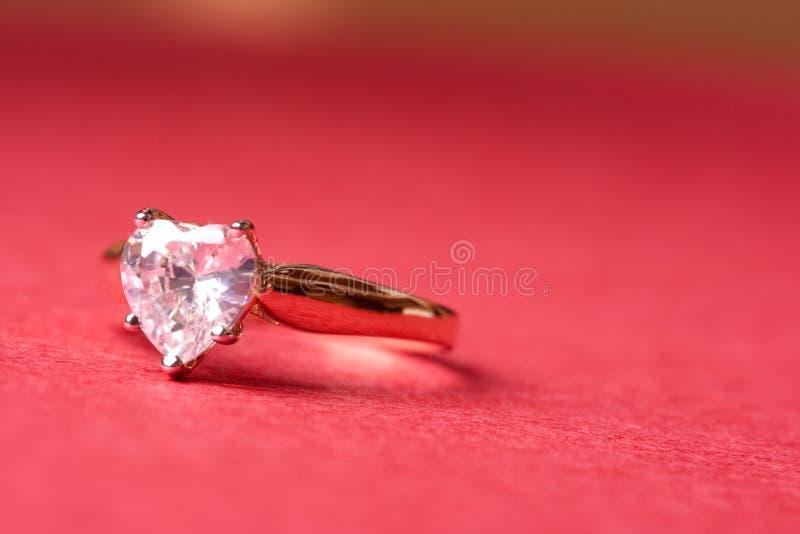 Diamant de coeur images libres de droits
