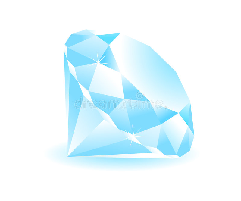 Diamant de vecteur illustration libre de droits
