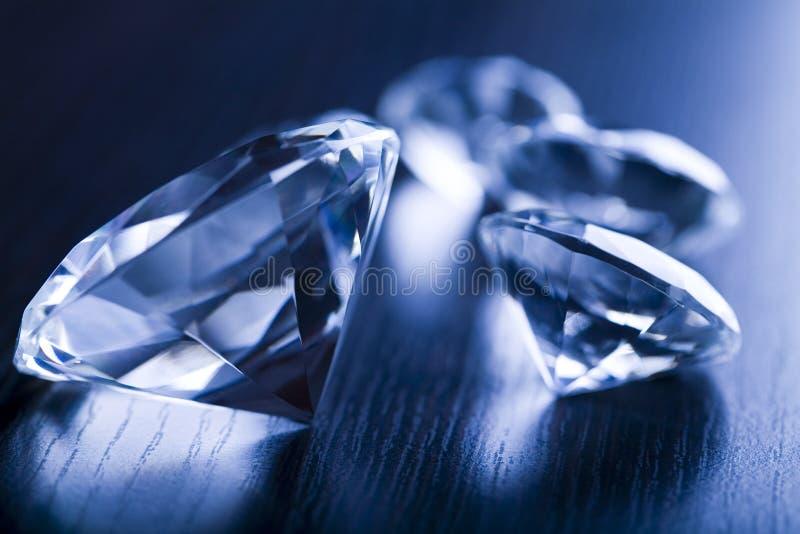 Diamant - een harde steen royalty-vrije stock afbeeldingen