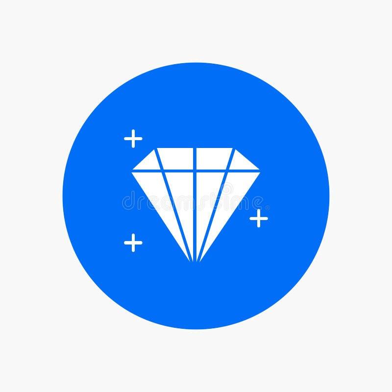 Diamant, Juweel, Gebruiker vector illustratie