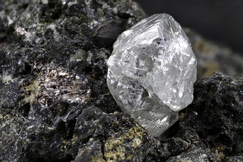 Diamant naturel photos stock
