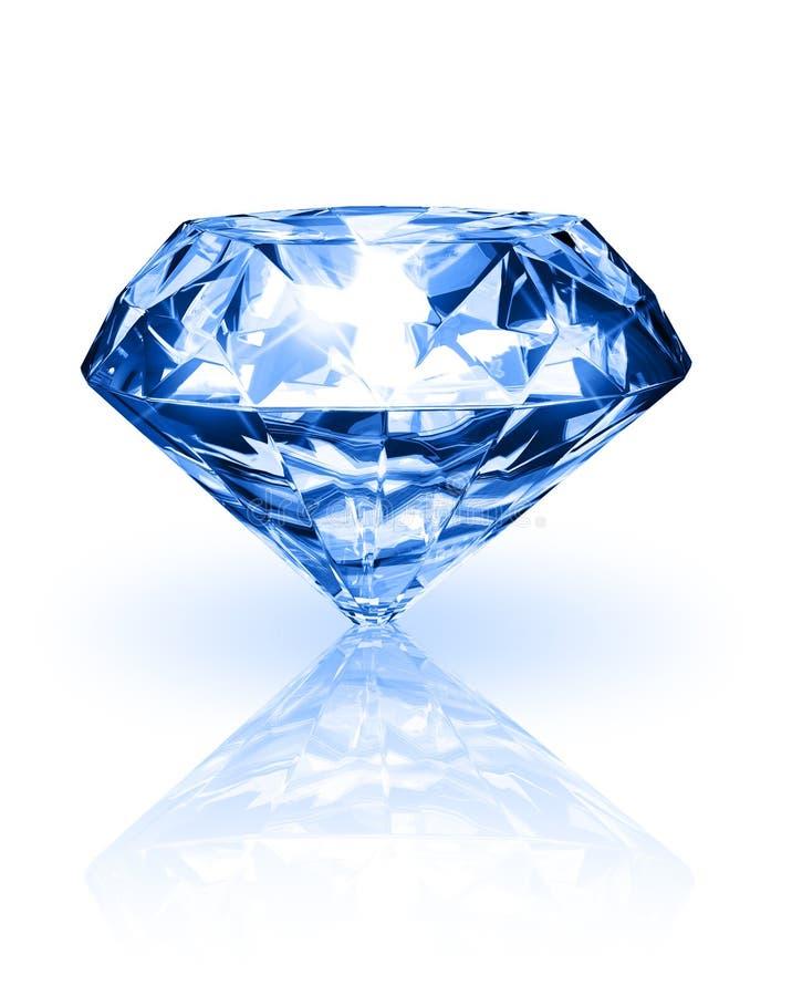 Diamant op witte achtergrond vector illustratie
