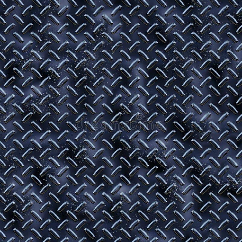 Diamant-Platten-blaues reflektierendes vektor abbildung