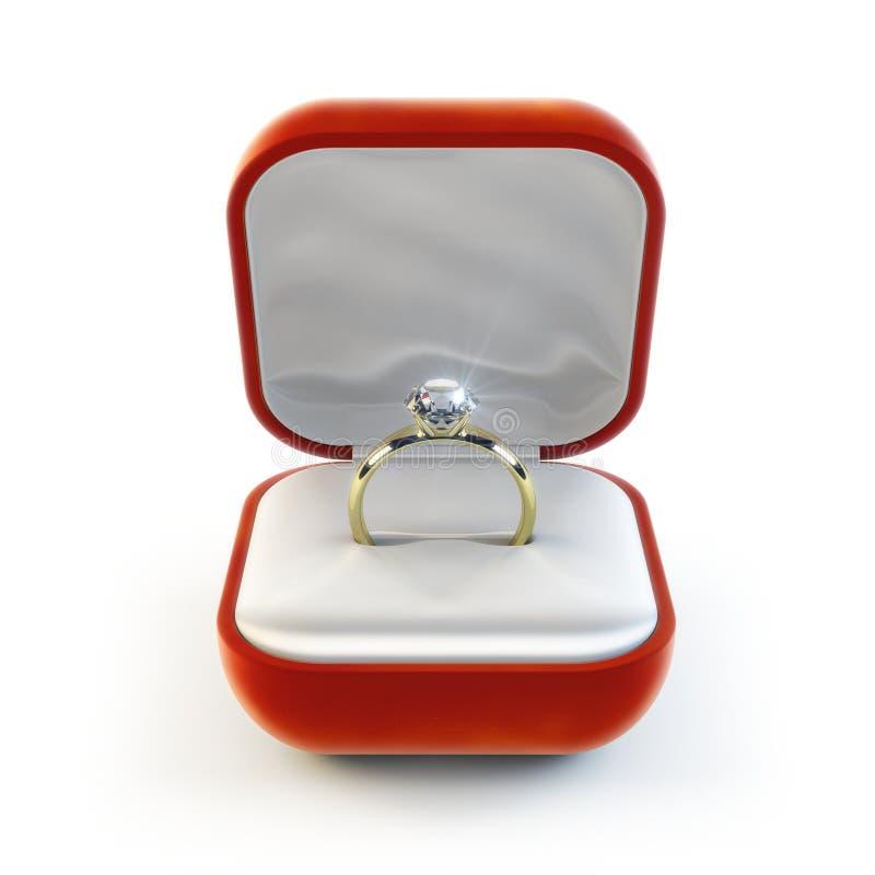 Diamant-Ring stock abbildung