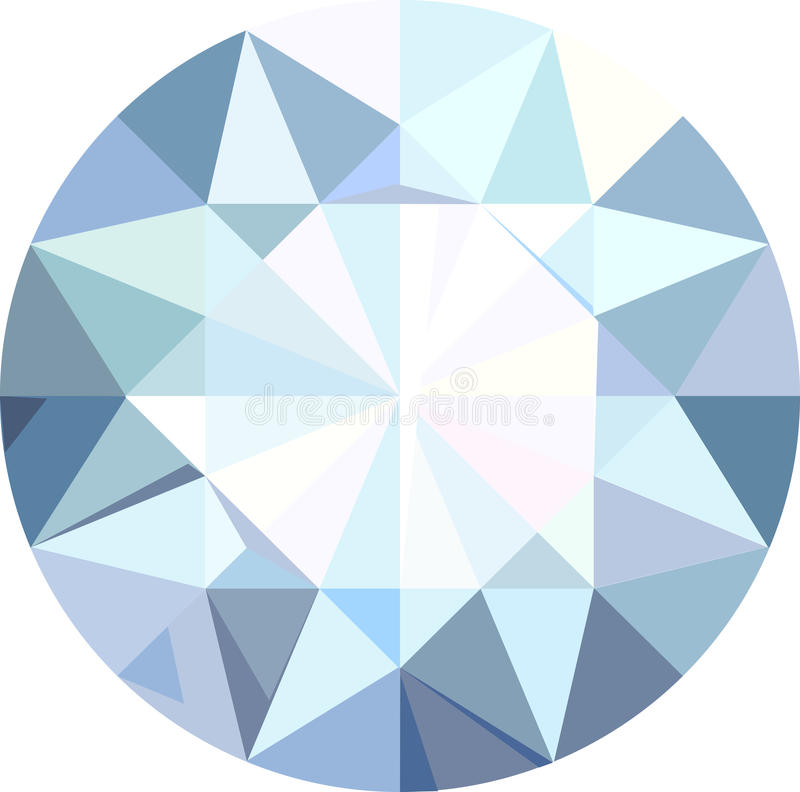 Diamante stock de ilustración