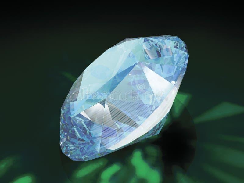 Diamante 3d fotografia stock libera da diritti