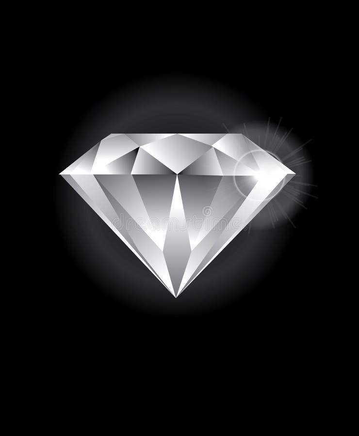 Diamante fotografia de stock royalty free