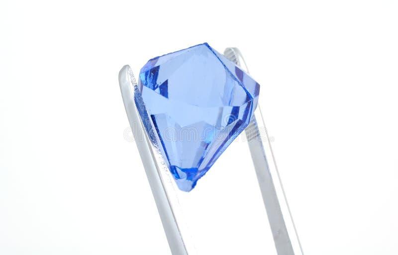 Diamante azul fotos de stock