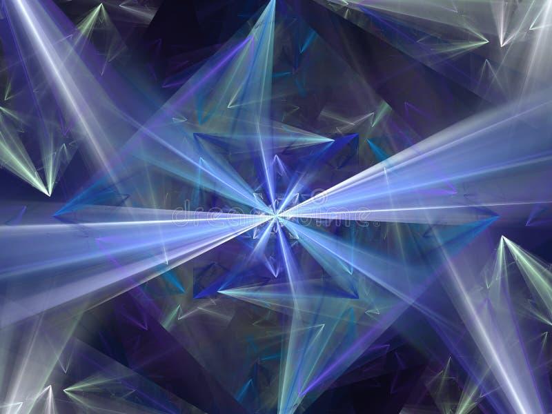 Diamante bonito E ilustração stock
