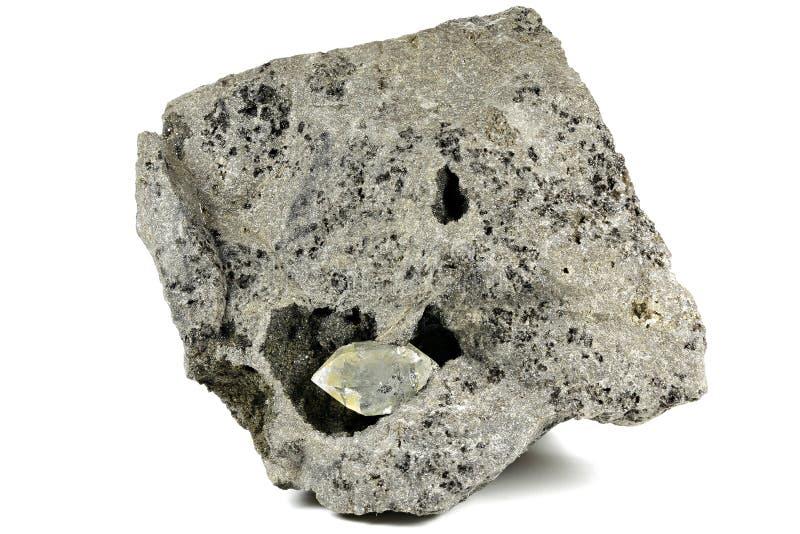 Diamante de Herkimer imagen de archivo libre de regalías