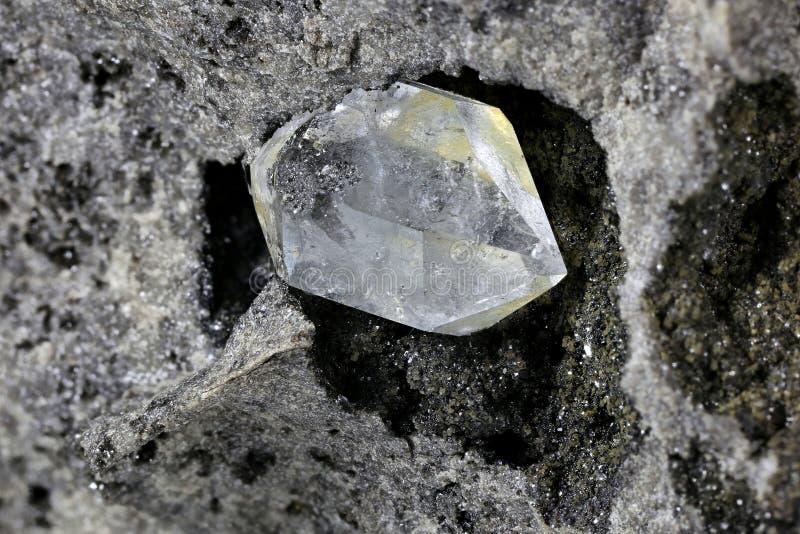 Diamante de Herkimer fotografía de archivo