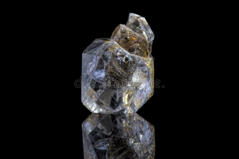 Diamante de Herkimer imagenes de archivo