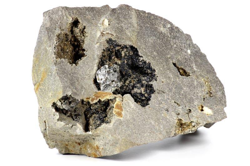 Diamante de Herkimer imagen de archivo