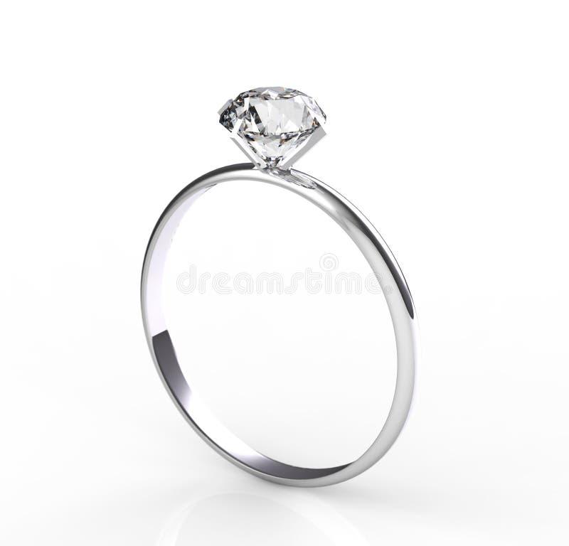 Diamante del solitario royalty illustrazione gratis
