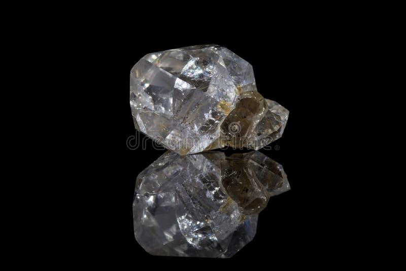 Diamante di Herkimer fotografie stock libere da diritti
