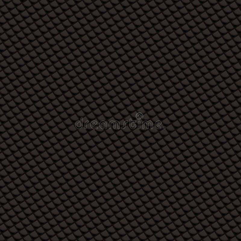 Diamante do weave do carbono ilustração royalty free