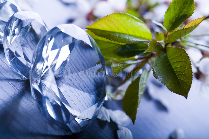 Diamante enorme fotografia de stock royalty free