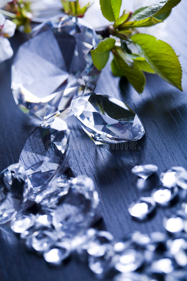 Diamante enorme fotografia stock