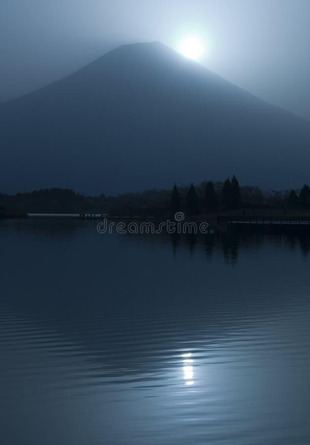 Diamante Fuji fotografia stock