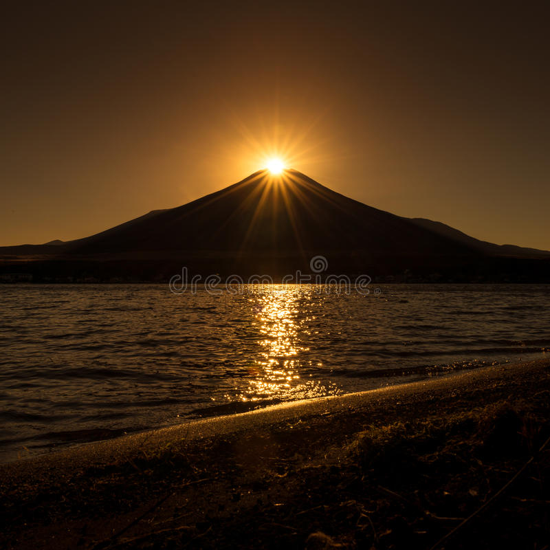 Diamante Fuji fotos de archivo