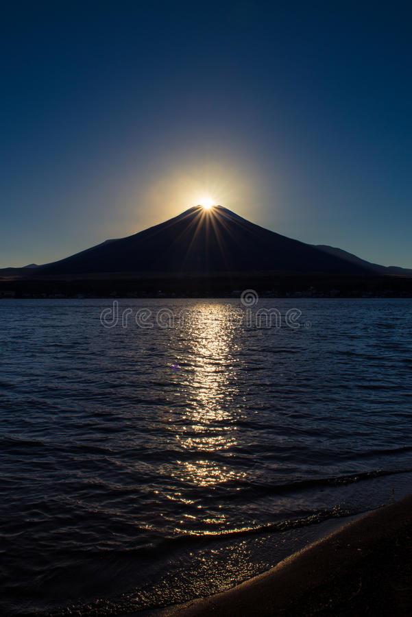 Diamante Fuji fotos de archivo libres de regalías