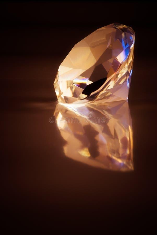 Diamante grande foto de stock