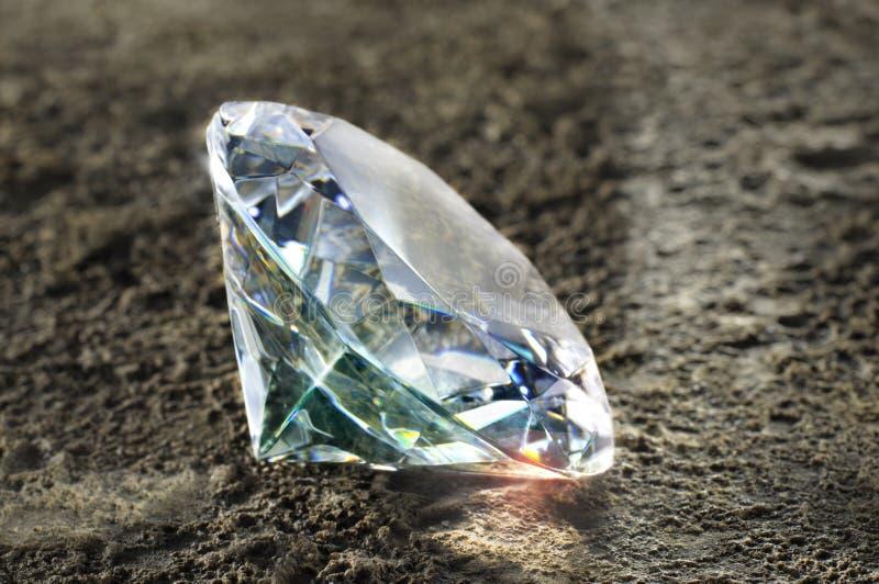 Diamante lucido fotografia stock libera da diritti