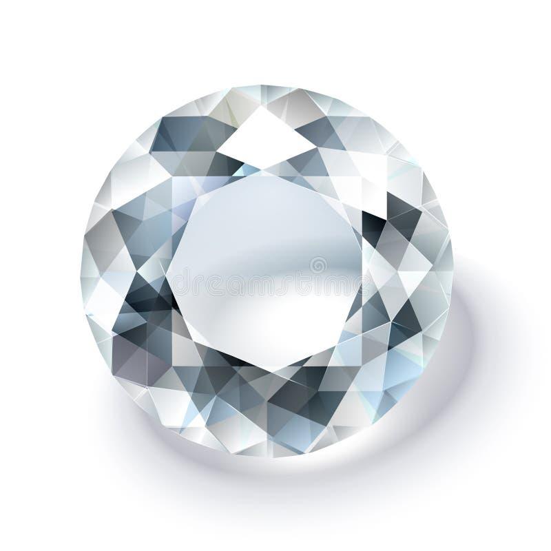 Diamante luminoso illustrazione vettoriale